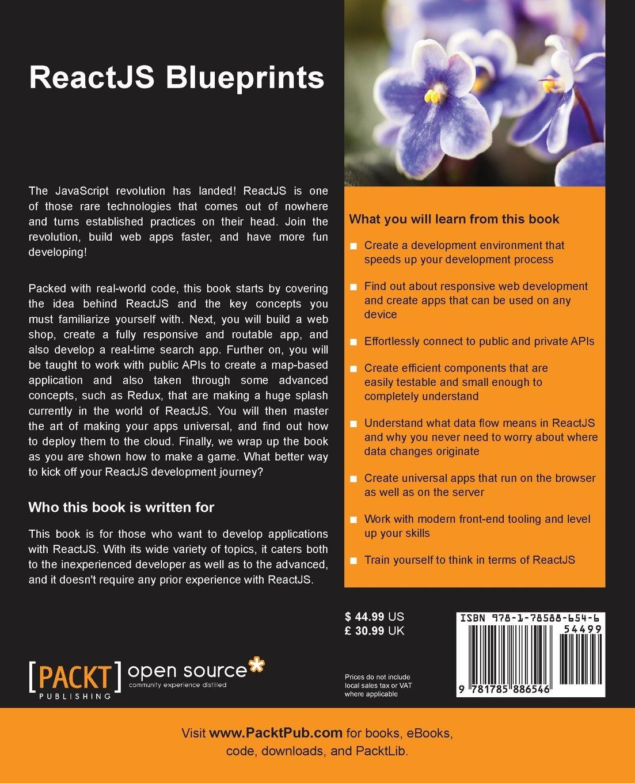 amazonfr reactjs blueprints sven a robbestad livres