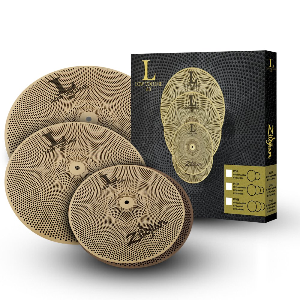 Zildjian L80 Low Volume 14/16/18 Cymbal Set by Avedis Zildjian Company