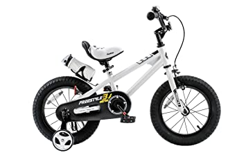 Royalbaby Freestyle Kid's Bike for Boys and Girls, 12 14 16 inch ... royalbaby bmx freestyle kid's bike 18