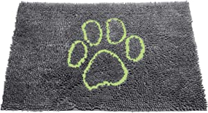The Original Dirty Dog Doormat, Ultra Absorbent Advanced Microfiber Soaks Up Water and Mud, Super Gripper Backing Prevents Slipping