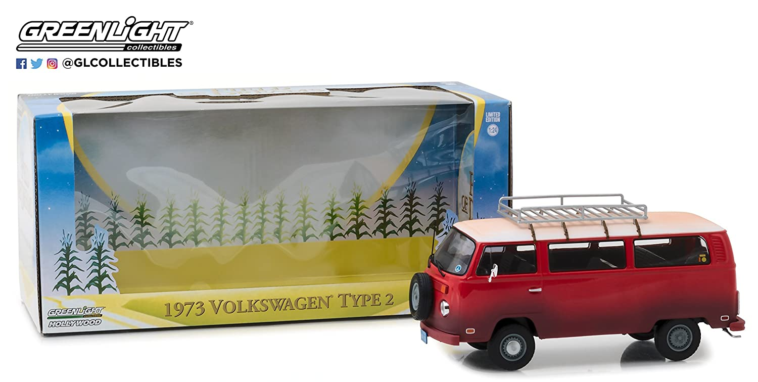 1:24 1973 Volkswagen Type 2 (T2B) Bus - Field of Dreams (1989),  True-to-Scale Detail, Limited Edition (84034)