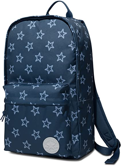Converse Core Poly Backpack Blue Coast Star Print 10003331 903  Amazon.co.uk   Shoes   Bags 33d936fe5b0ab
