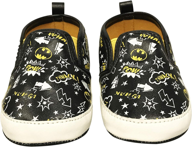 DC Comics Batman Infant Soft Sole Slip-On Shoes