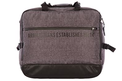 Image Unavailable. Image not available for. Colour  Armani Jeans travel  duffle weekend shoulder bag Nylon ... d19d0523b43fb