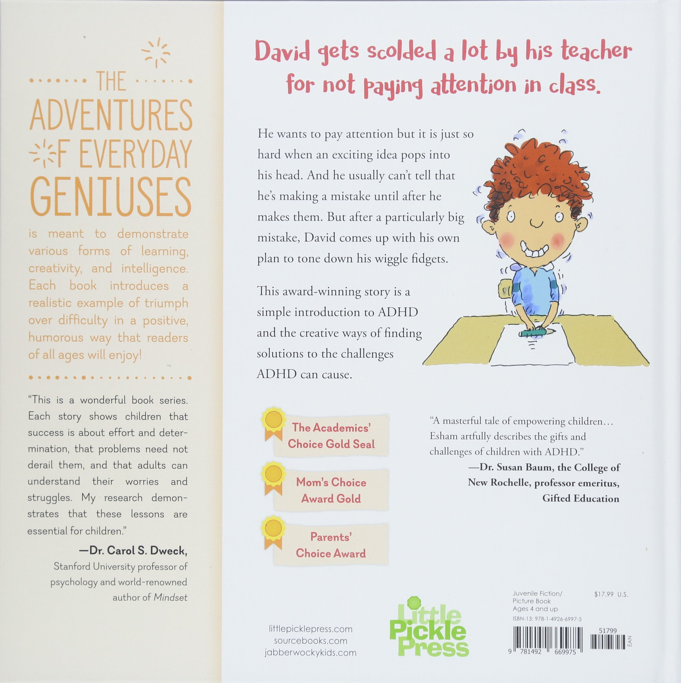 Mrs. Gorski I Think I Have the Wiggle Fidgets (The Adventures of Everyday Geniuses) by Little Pickle Press (Image #3)