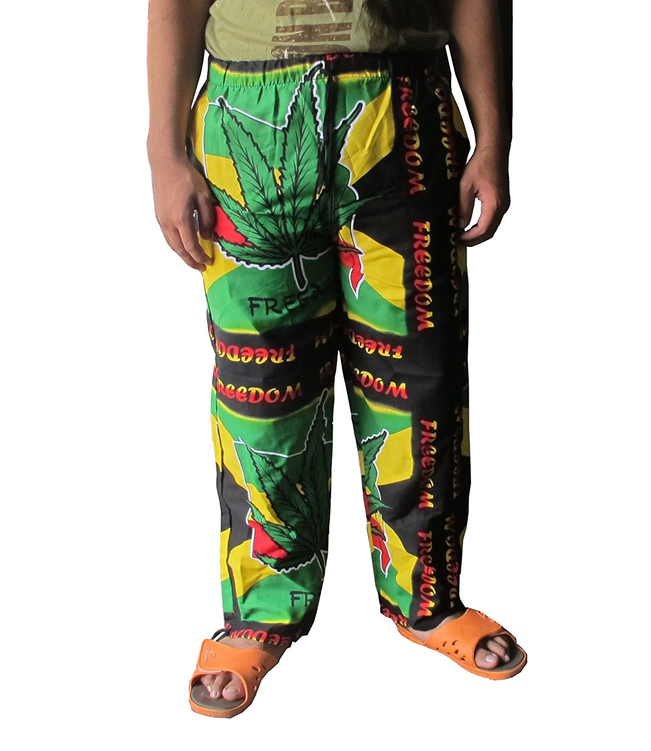 Thai danai Presents.Free shpping Bob Marley Style With Colourfull Cotton Fit For Size 27-38 inches Long 40 inches