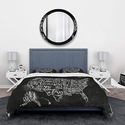 Amazon.com: DESIGN ART Designart \'United States Chalk ...