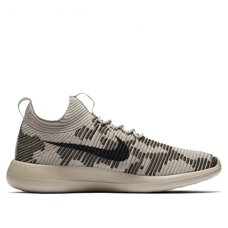 premium selection 3da79 357ac Nike Men s NikeLab Roshe Two Flyknit V2 Shoes String Dark Mushroom 918262  200 Size 11  Amazon.in  Shoes   Handbags
