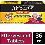 Airborne 草莓味VC泡腾片,36片-1000毫克维生素C