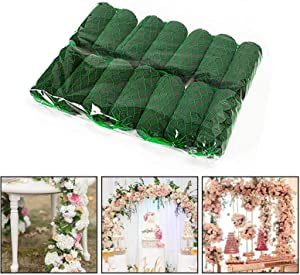 PinnacleT1 Flower Arrangement Kit, 6.9ft Absorption Flower Holder Arch Door Tabletop Flower Arrangement Material Floral Craft Wet Foam for Home Garden Florist Wedding Decoration