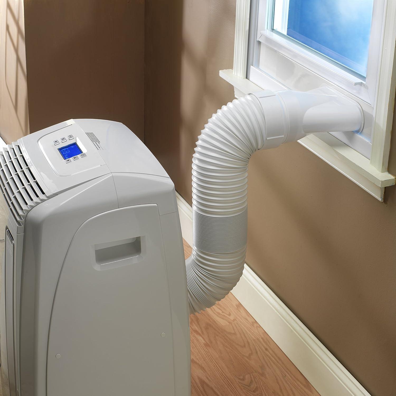 DeLonghi PAC A120E 12,000-BTU Portable Air Conditioner: Amazon.co.uk:  Kitchen & Home