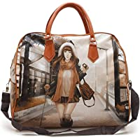 HappenWell Women's Digitally Printed Polyester Casual Hand Bag Hobo Handbag Stylish Handbag for Girls & Women (Multi-Color)