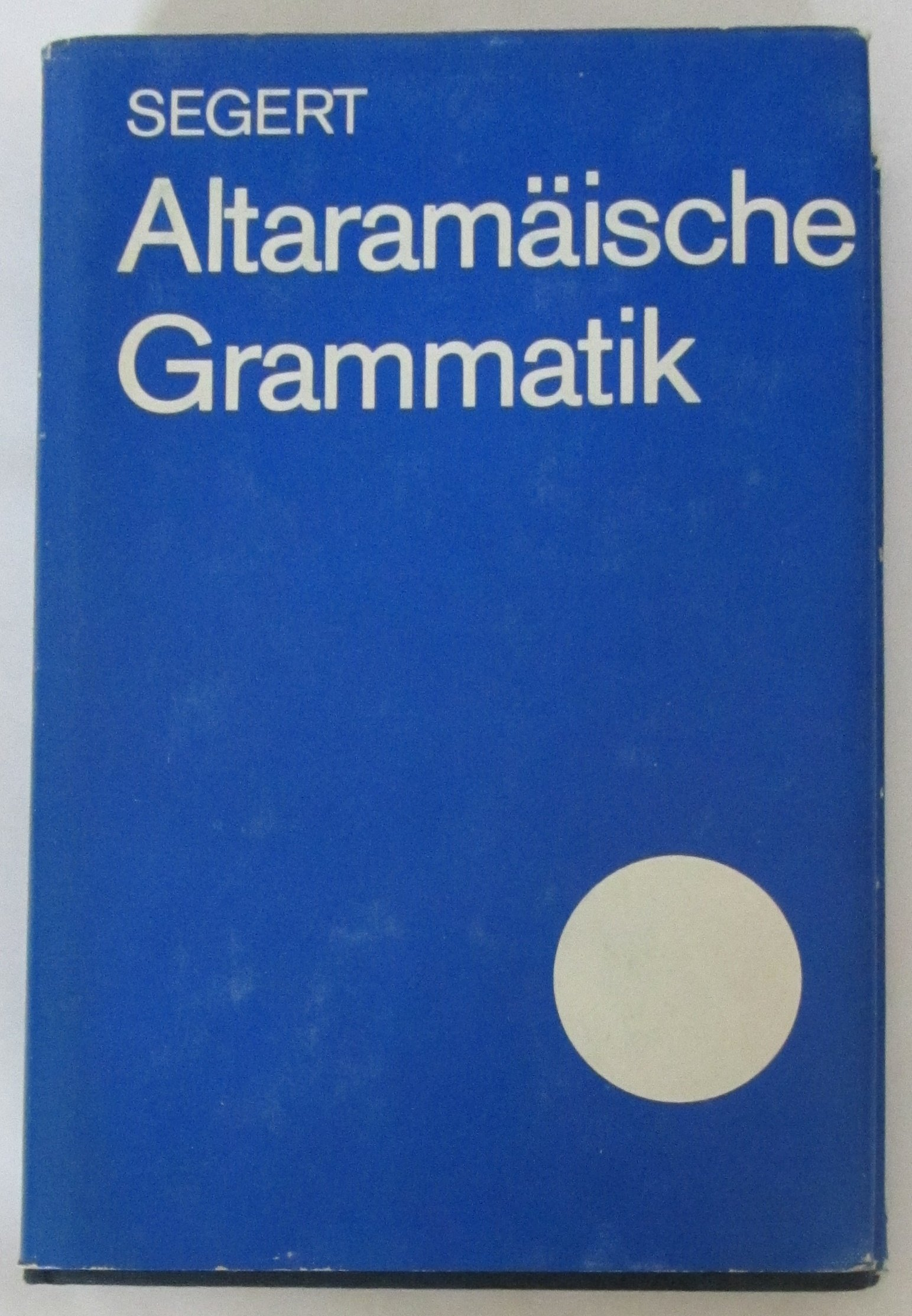 Altaramäische Grammatik