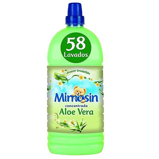 Mimosín Aloe Vera Suavizante Concentrado para 58 lavados - 8 Suavizantes: Amazon.es: Salud y cuidado personal