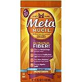 Metamucil Daily Fiber Supplement, Orange Smooth Sugar Free Psyllium Husk Fiber Powder, 114 Doses