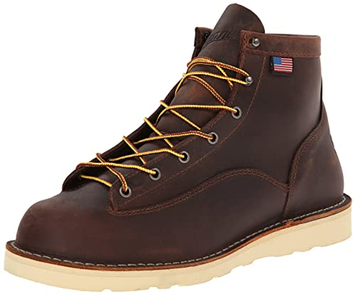 "Amazon.com: Danner Men's Bull Run 6"" Work Boot: Shoes"