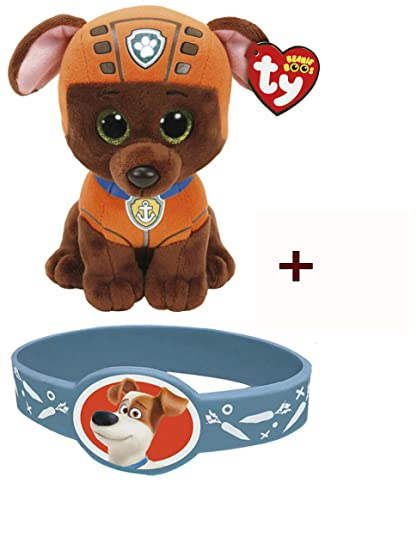 9d17fec2d2b Image Unavailable. Image not available for. Color  TY Beanie Babies -Paw  Patrol- ZUMA ...