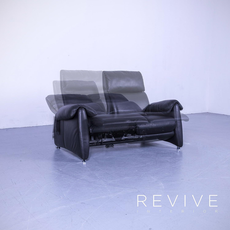 Malerisch Sofa Relaxfunktion Galerie Von Conceptreview: Designer Leder Schwarz Zweisitzer Couch Elektrische