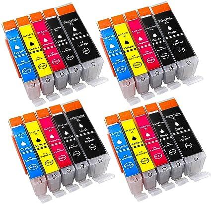 alask aprint Cartuchos de Impresora Compatible para Canon pgi-570 ...