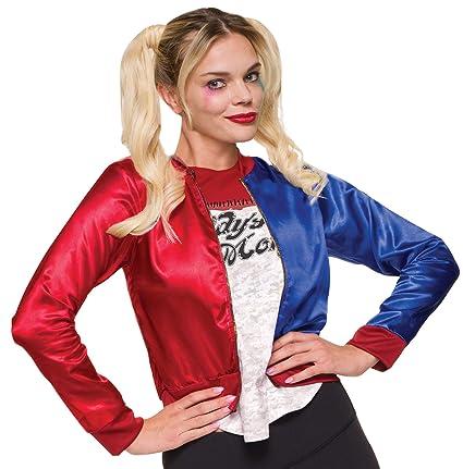Rubies - Disfraz de Harley Quinn (Escuadrón suicida, S)