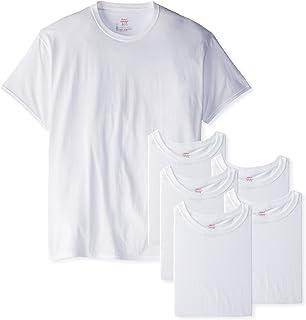 1621992e Amazon.com: Hanes Men's 3-Pack Tagless Crew Neck T-Shirt: Clothing