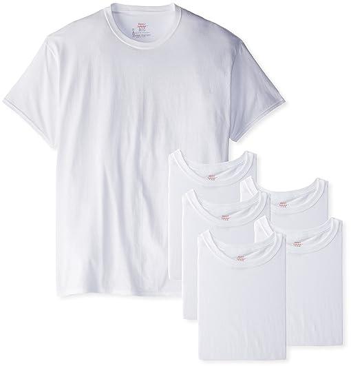 Hanes Herren Unterhemd, Weiß - Weiß, S