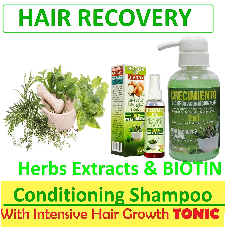 Fem Hair Growth Stimulating Shampoo for Women - Anti-Hair Loss CABELLO SUAVE SIN ENREDOS