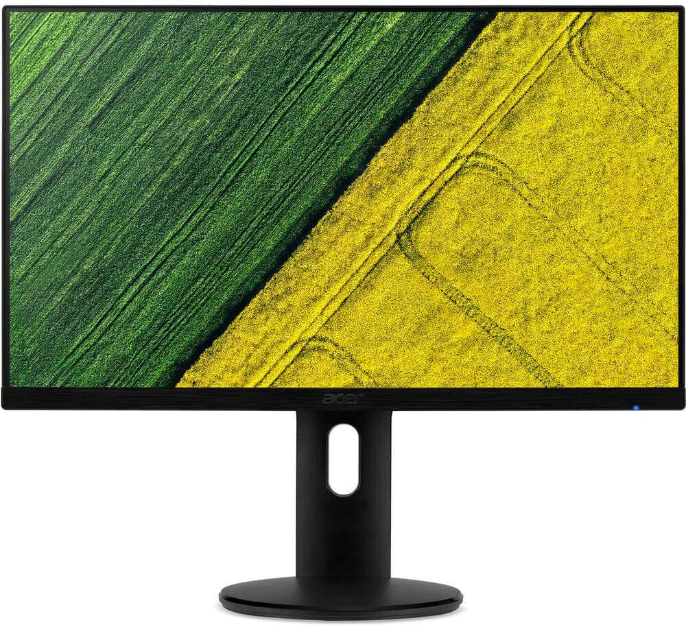 "Acer ET241Y 23.8"" LED LCD Monitor - 16:9-4 ms - 1920 x 1080-16.7 Million Colors - 250 Nit - Full HD - HDMI - VGA - Black - MPR II"