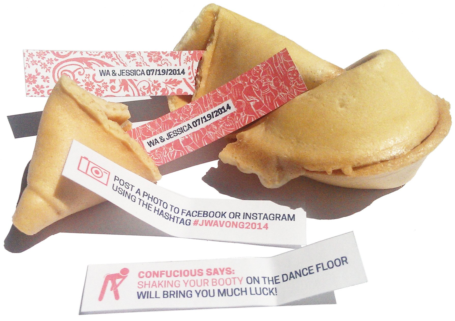 Greenfire Custom Fortune Cookies, Gourmet Vanilla, Bulk Quantity of 300 by Greenfire Custom Fortune Cookies