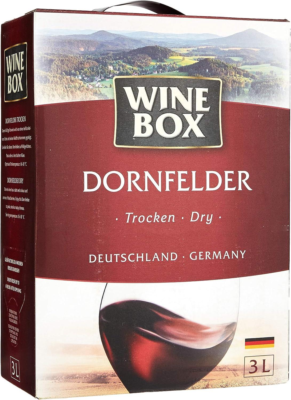 Wine Box Dornfelder Landwein Rhein Trocken Bag In Box 1 X 3 L Amazon De Bier Wein Spirituosen