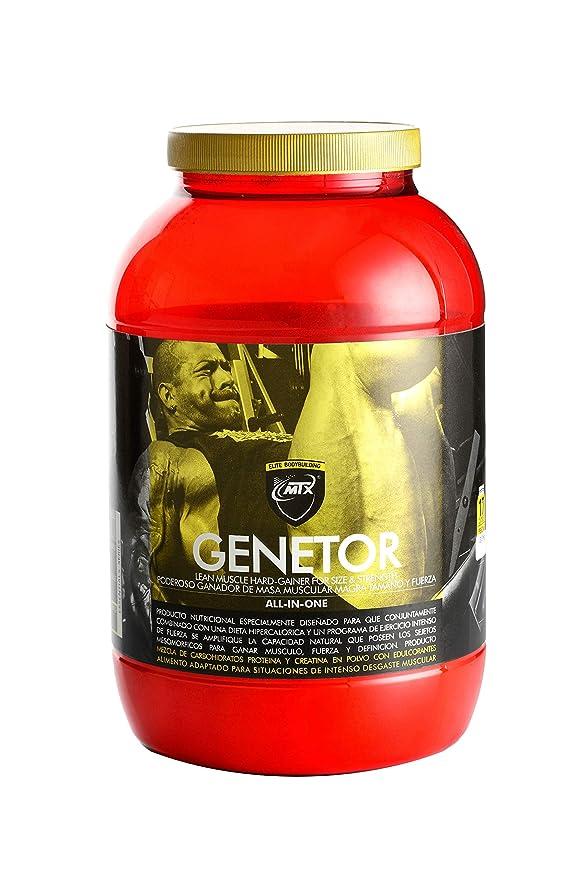 Genetor 3,5 kg Chocolate - Matriz para la ganancia de fuerza, masa y definición muscular: Amazon.es: Salud y cuidado personal