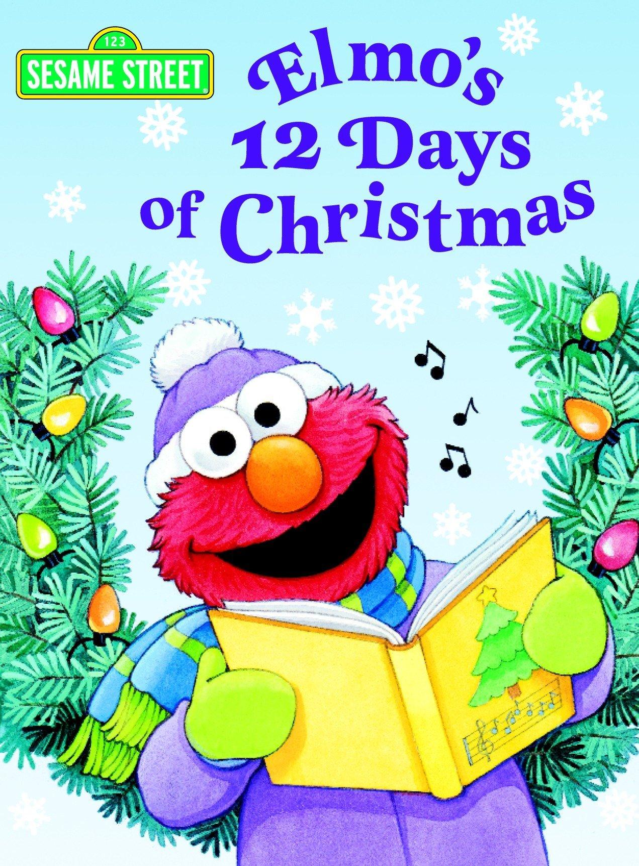 Amazon Com Elmo S Night Before Christmas Shaped Board