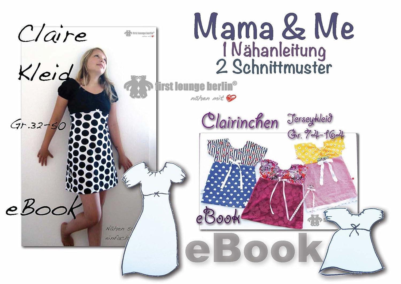 Mama&Me Nähanleitung mit Schnittmuster auf CD für Jerseykleid Mutti ...