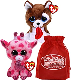 85ac0a96f53 Ty Claire s Beanies Girl s Beanie Boo Small Gia The Giraffe Plush Toy · 5.0  out of 5 stars 1 ·  9.99 · Ty Beanie Boos Valentine s 2019 Sweetums (Pink  ...