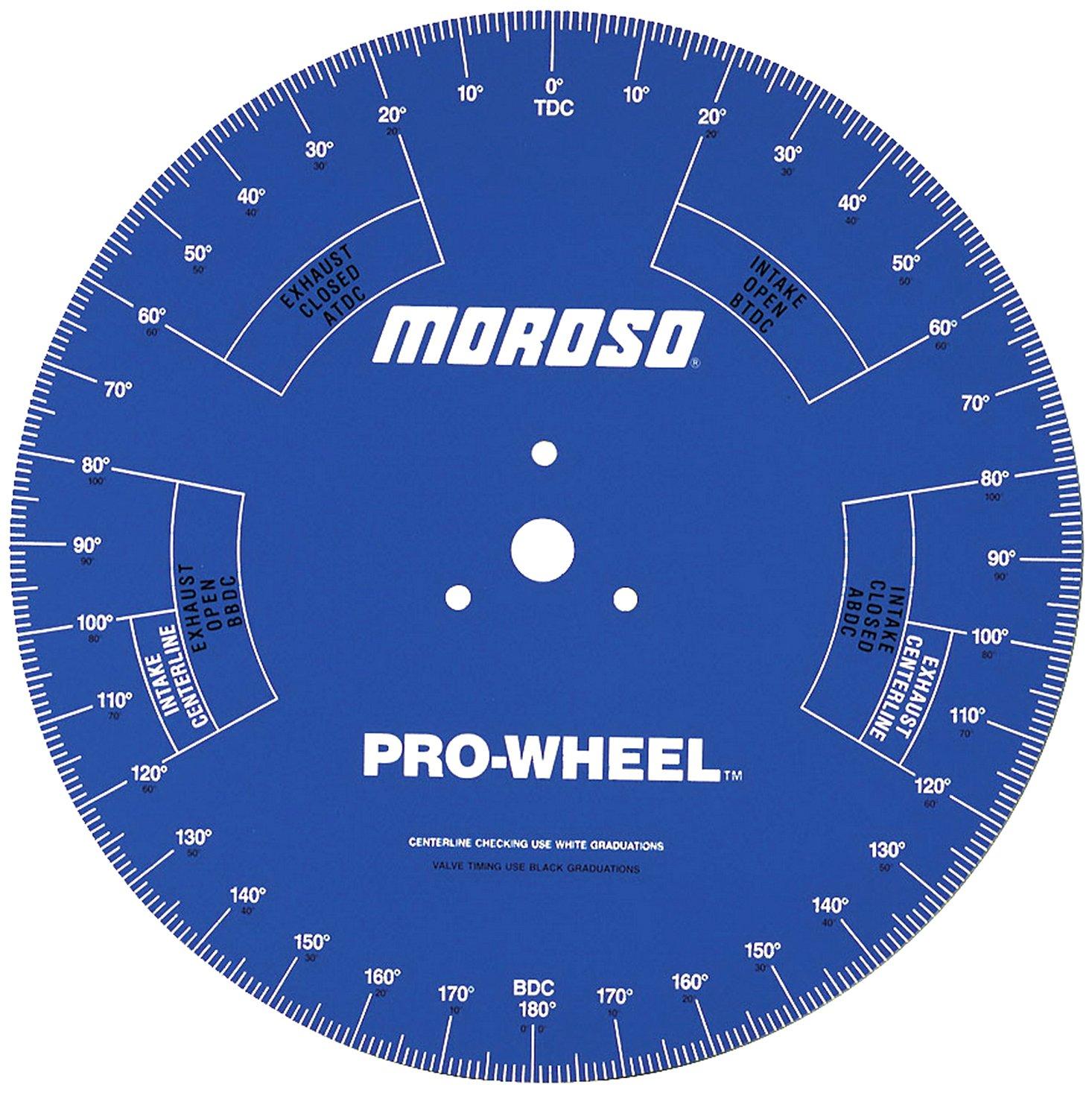 photograph about Degree Wheel Printable identify Moroso 62191 18\