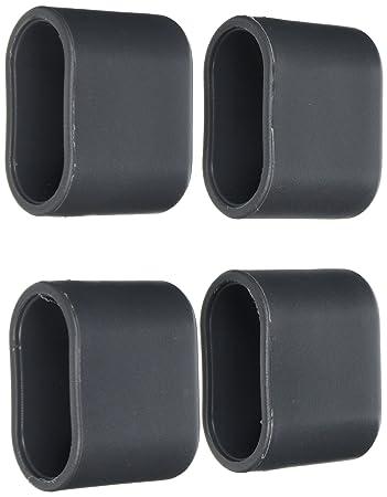 Greemotion Fußkappen Für Klappsessel Toulouse Grau, 4 Tlg., Ersatzkappen  Aus Hochwertigem Kunststoff
