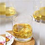 OCEAN San Marino Double Rock Glass, Pack of 6, Clear, 385 ml, B00414
