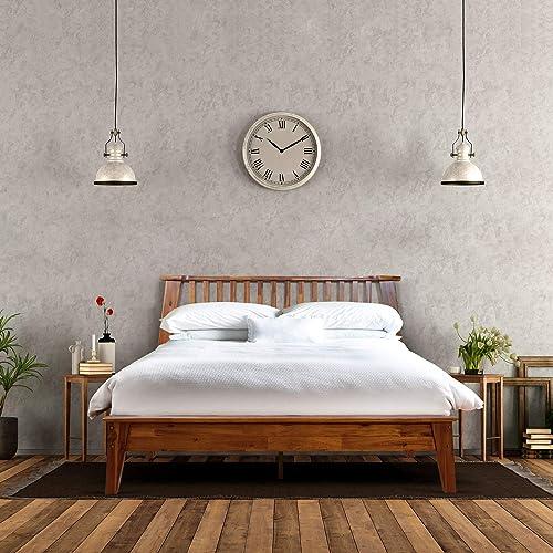 Acacia Kaylin 14 Inch Wood Platform Bed Frame