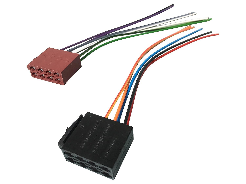 ISO Stecker Adapter Kabel Set für Autoradio Auto KFZ Einbau ...