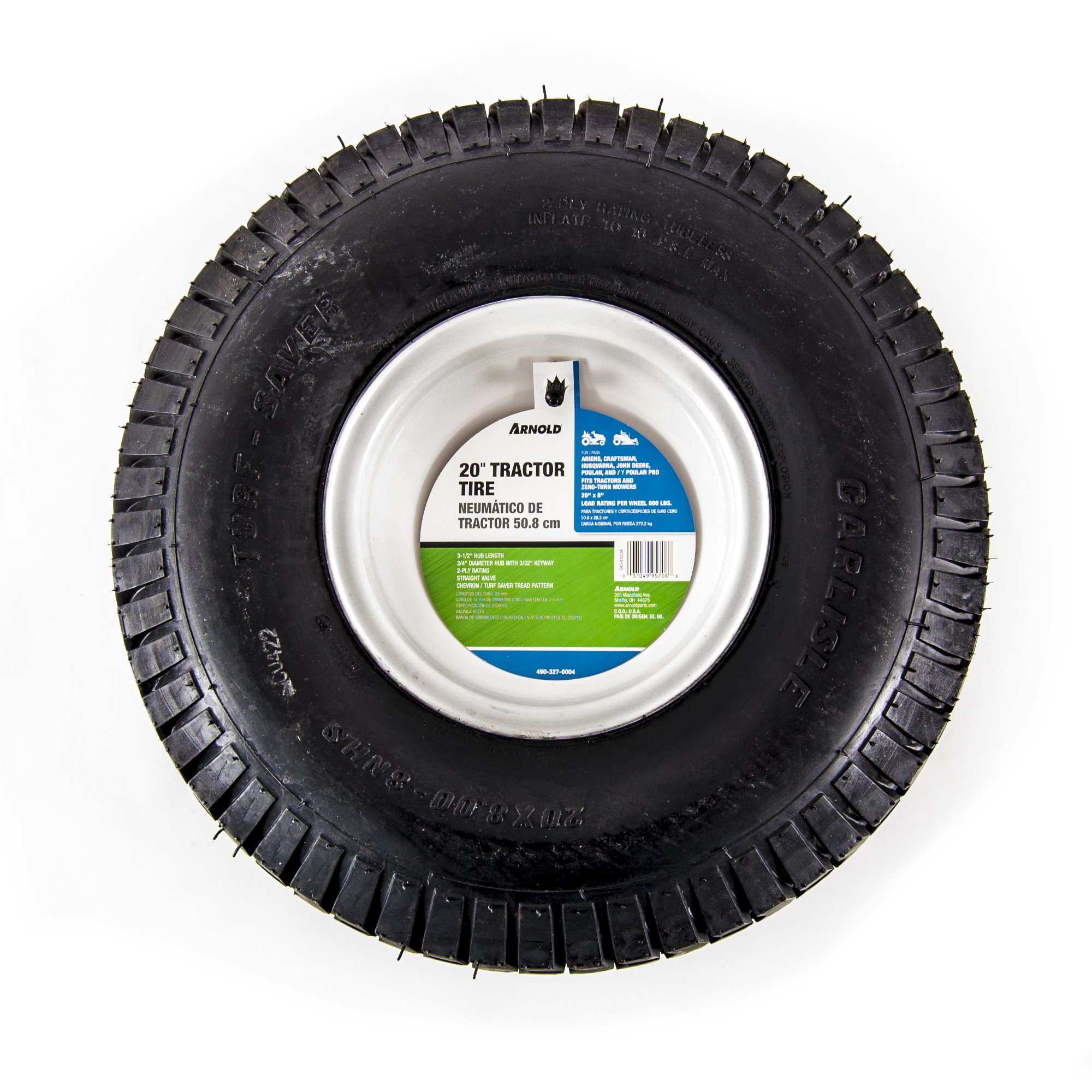 Arnold 20-Inch x 8-Inch Replacement Tractor Tire by Arnold (Image #2)