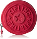 Kipling Aeryn, Damen Münzbörse, Pink (Cherry C), 10x10x2 cm (W x H x L)