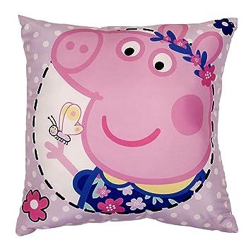 Peppa Pig Wutz Kissen Kuschelkissen Dekokissen  40 x 40 cm Home Decor