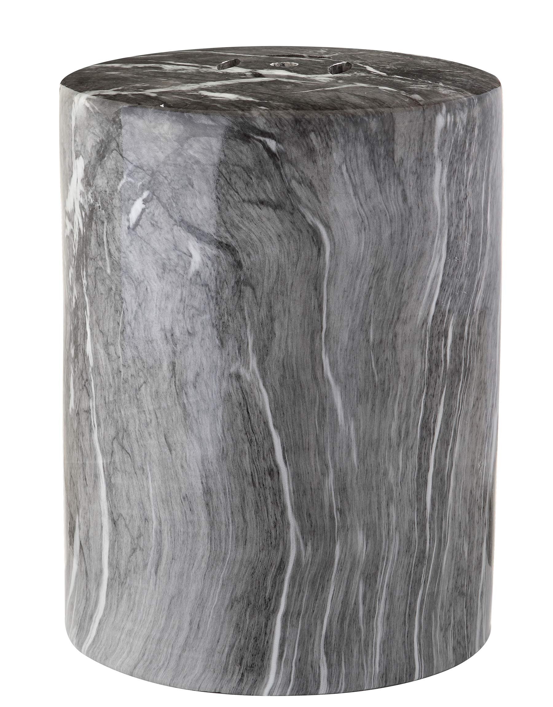 Safavieh ACS4566A Castle Collection Forster Marble Garden Stool, Black by Safavieh (Image #2)