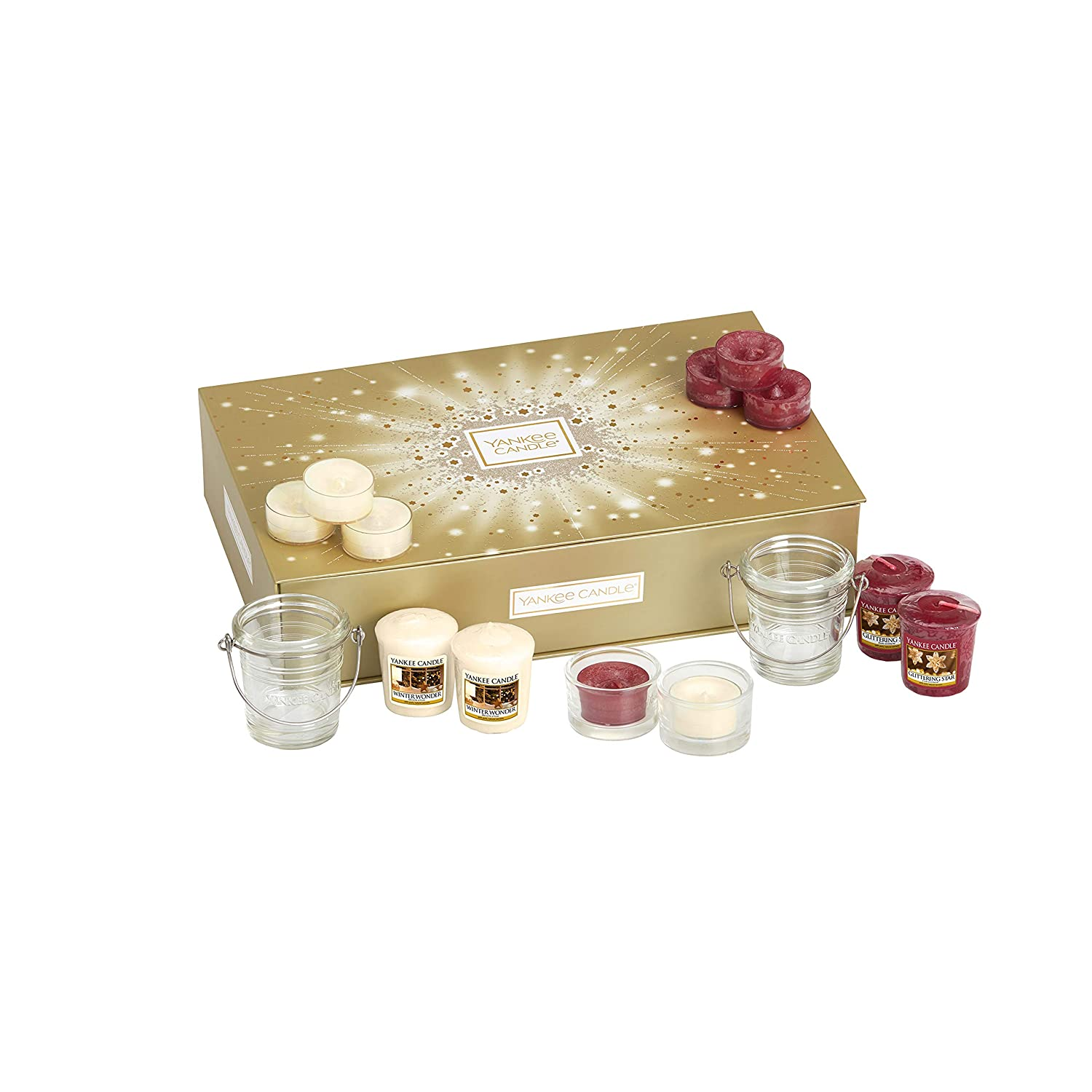 Yankee Candle Tablescaping Gift Set Medium Amazoncouk Kitchen Home
