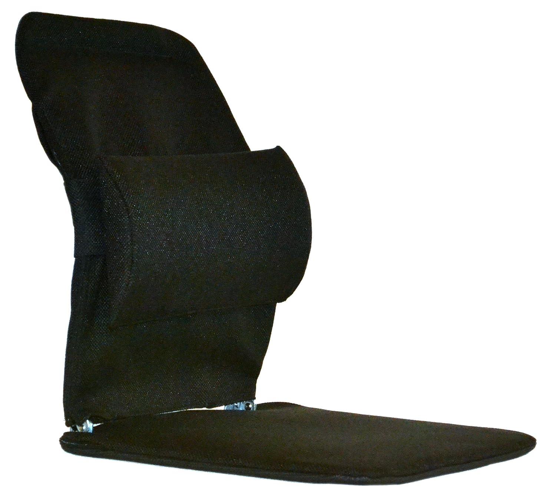 Charcoal Mc Carty/'s Mc Cartys Sacro-Ease BRSM-CHAR Standard Model Lumbar Seat Support