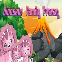 Frenesí de la familia de los dinosaurios