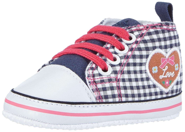 Playshoes Baby Turnschuhe, Sneaker Herzchen Love, Chaussons Enfant Bébé Fille