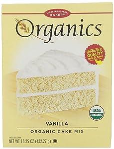 European Gourmet Bakery, Organic Vanilla Cake Mix, 15.25 oz