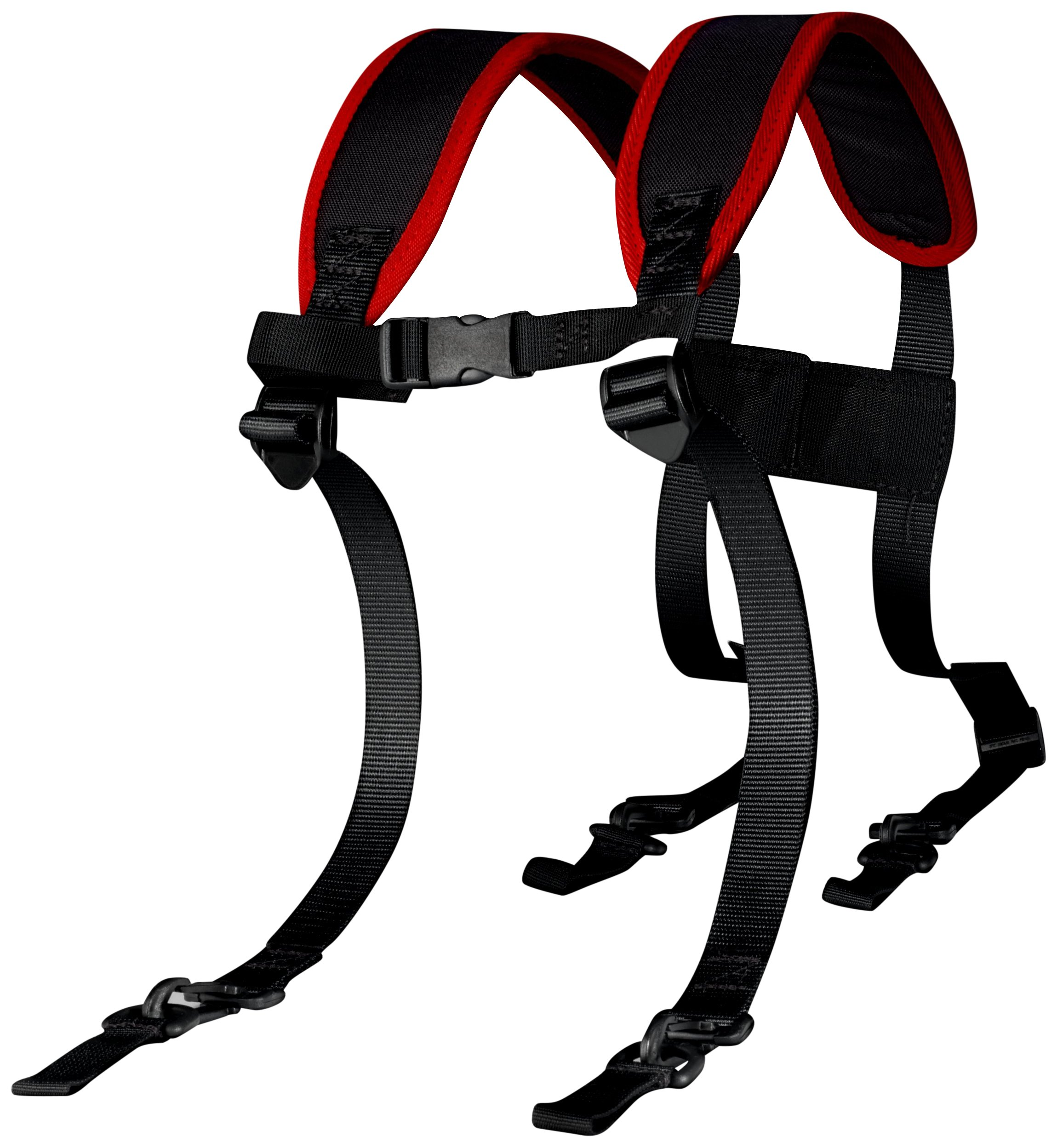 3M Versaflo 17362 Suspenders TR-329, for Versaflo TR-300 and Speed Glass TR-300-SG PAPR 1/case, Black