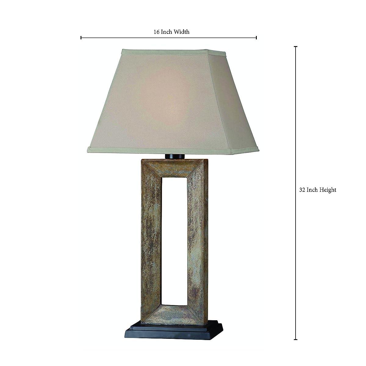 Kenroy Home 30515SL Egress Outdoor Table Lamp
